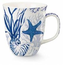 Indigo Shells  Harbor Mug