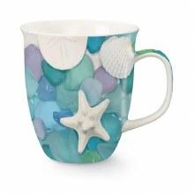 Seaglass/Shell Photograph Mug