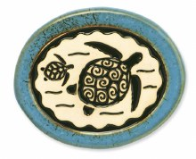Sea Turtle & Baby