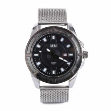 Mad Man Mesh Stainless Watch