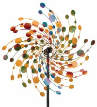 """32"""" Rotating Wind Spinner--Confetti"""