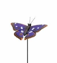 """36"""" Butterfly Stake Purple Emperor"""