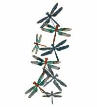 Dragonfly Metallic Wall Art