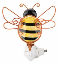 Glass Bee Night Light
