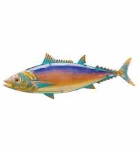 Tuna Metal & Glass Wall Art