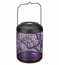 Large Shadow Lantern with Butterflies cut out