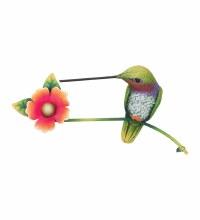 Hummingbird Sitting Wall Decor