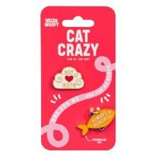Cat Pin & Tag Set