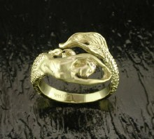 SD-MR005 14K Mermaid Ring