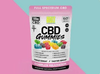 Bolt 100mg Cbd Gummies