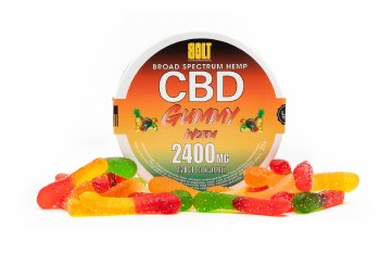 Bolt 2400mg 120ct Cbd Worms