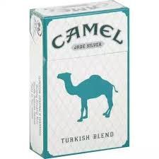 Camel Jade Silver - Pack or Carton TB