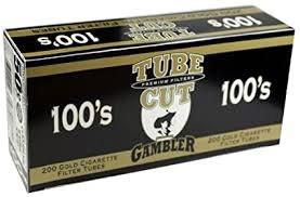 Gambler Tube Cut Gold 100