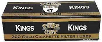 Gambler Tube Cut Gold Kings