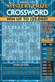 Mystery Prize Crossword $3
