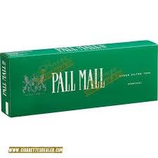Pall Mall Men Green 100 - Pack or Carton