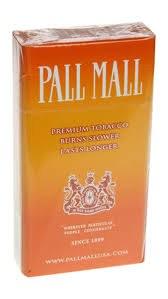 Pall Mall Orange - Pack or Carton