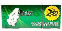 4 Aces Menthol King