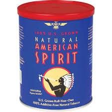 American Spirit Blue Can
