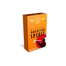 American Spirit Orange - Pack or Carton