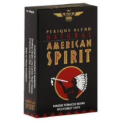 American Spirit Black - Pack or Carton
