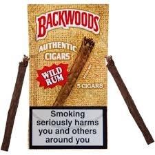 Backwoods Wild Rum 5 Pk