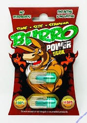 Burro Power Enhancement Pill
