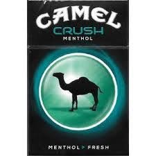 Camel Crush Menthol - Pack or Carton