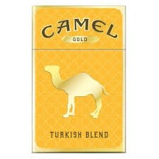 Camel Gold - Pack or Carton TB