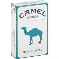 Camel Jade Silver - Pack or Carton TB