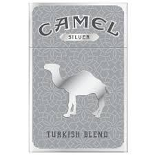 Camel Silver - Pack or Carton TB