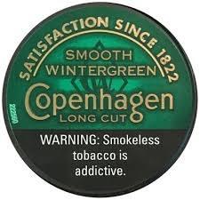 Copenhagen Long Cut Wintergree - Can or Roll
