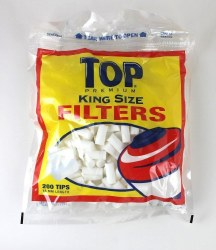 Filters Top King Size 200 Tips