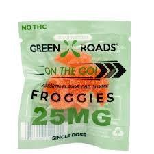 On The Go 25mg Frog Gummies