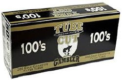 Gambler Tube Cut Gold 100