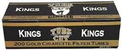 Gambler Tube Cut Gold Kings
