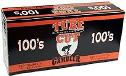 Gambler Tube Cut Org 100's