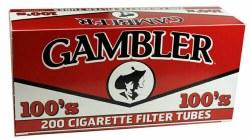 Gambler Red 100's
