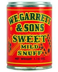 Garrett Sweet Dry Snuff
