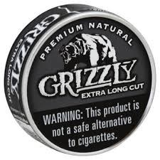 Grizzly Extra Long Cut Natural - Can or Roll
