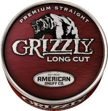 Grizzly Long Cut Straight - Can or Roll