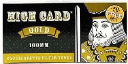 High Card Gold 100 Tubes