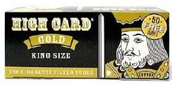 High Card Gold King Tubes