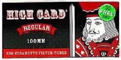 High Card Regular 100 Tubes