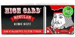 High Card Regular King Tubes