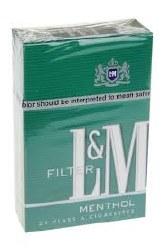 L&M Menthol 100 - Pack or Carton