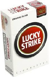 Lucky Strike Gold 100 Box $1of