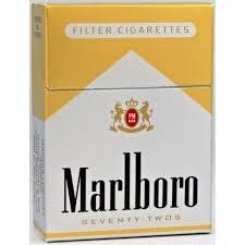 Marlboro 72 Gold - Pack or Carton