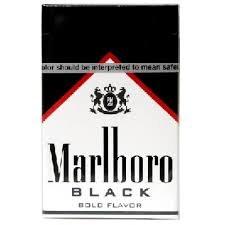 Marlboro Black - Pack or Carton