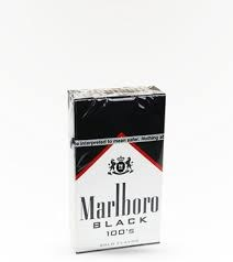 Marlboro Black 100 - Pack or Carton